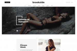 Brookside — Best Personal Blog Theme