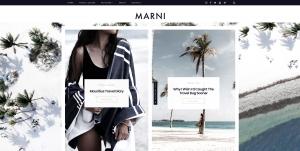 Marni — Best WordPress Blogs and Shop Theme