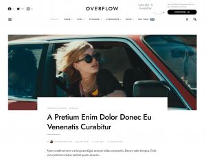 Overflow — Best Blogging and Magazine WordPress Theme